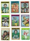 1971-72 TOPPS FOOTBALL YOU CHOOSE $2.25 $1.66 USD on eBay