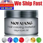 Unisex Mofajang DIY Hair Color Wax Mud Dye Cream Temporary Modeling 10 Colors
