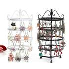 144 Holes Earring Jewelry Necklace Display Rack Metal Stand Holder Organizer US