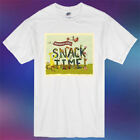 Barenaked Ladies Rock Band Legend Snacktime Men's White T-Shirt Size S to 3XL image