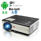 HD 1080p LED Smart Android Projector Blue-tooth Wifi Home Theater HDMI USB Movie
