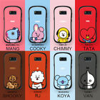 BT21 BTS Cell Phone Case for iPhone 7 Plus/8 Plus/X/XS/XR/11 fits FREE PopSocket