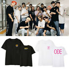 Kpop SEVENTEEN T-shirt WORLD TOUR ODE TO YOU Concert Tshirt Unisex Cotton Tee image