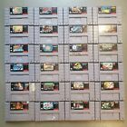 SNES Games - You PICK Super Nintendo Video Games - FAST SHIPPING! $14.99 USD on eBay
