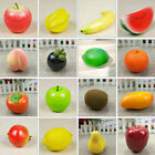1Pcs Plastic Lifelike Artificial Fruit Vegetables Kitchen Home Display