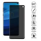 Privacy Screen protector Tempered Glass For Samsung Galaxy S10 / S10 Plus / S10E