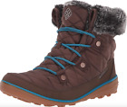 Columbia Womens Heavenly Shorty Omni-Heat Lace Up Boots size 11 Winter Snow