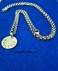 REDUCED Medical Alert Warning Necklace Stainless Steel Chain & Medical Disc