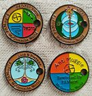 Pathtags Rare Geocache Bewitched Tags for Luck, Anti Muggle, Health, Protection
