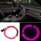 1-5M Car LED Atmosphere EL Wire String Light Neon Strip Rope HI-Q iridescent UK