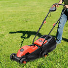 14 Electric Push Lawn Corded Mower With Grass Bag