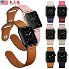 Kyпить 40/44mm simulated Leather iWatch Band Strap Apple Watch Series 5 4 3 2 38/42mm на еВаy.соm