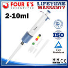 0.1ul-10ml Single Channel Adjustable Volume Pipettes Pipettor Micro Lab Tool New