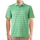 New Grand Slam Men's Big & Tall Stay-Dry Country Striped Performance Golf Polo