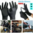 100Pc Mechanic Nitrile Gloves Disposable Tattoo Latex Powder Free Workshop Real