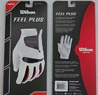 NEW WILSON MEN'S FEEL PLUS ALL WEATHER GOLF GLOVE. SIZE M,  L
