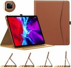 """Business Leather Fold Folio Smart Cover Case for iPad Pro 11"""" 2nd/ 12.9 4th 2020"""
