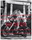 1957 ELVIS PRESLEY at GRACELAND Photo with YVONNE LIME on MOTORCYCLE