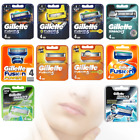 GILLETTE FUSION5 PROGLIDE Proshield POWER mach3 sensitive 100% GENUINE UK STk