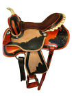 ARABIAN HORSE WESTERN SADDLE 16 15 PLEASURE FLORAL TOOLED LEATHER TRAIL TACK SET