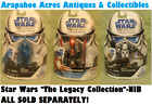 Star Wars Legacy Collection, Die Cast Action Figure Toys, NIB $14.95 USD on eBay