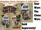 Star Wars, The Clone Wars Collection, Die Cast Action Figure Toys, NIB $18.95 USD on eBay