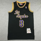 Los Angeles Lakers #8 Kobe Bryant black Throwback Stitched Jersey on eBay