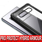 SAMSUNG S20,A10,A70,A51,A71,ULTRA Case Shockproof CLEAR PROTECTIVE ARMOUR COVER