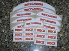 TAMPA BAY BUCCANEERS Bumper Football Helmet Decal Set Qty (1) Set 3M 20MIL $4.99 USD on eBay