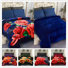 Solid Color Super Soft Micro-Plush Bed Blanket Warm Light Weight All-Season image