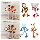Monkey,elephant,frog ,Pack 3 Pet Dog Puppy Squeaky Chew Plush Funny Toys Fine