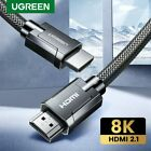 Ugreen HDMI 2.1 Cable 8K 60Hz HDR Premium High Speed 48Gbps HDMI Cord For TV PS4