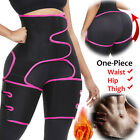 High Waist Trimmer Sauna Sweat Thigh Slimming Body Shaper Neoprene Butt Lifter image
