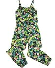 LOSAN Junior Girl's Jumpsuit in Tropical Print, Sizes 8-16