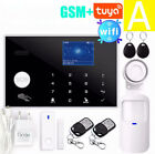 WIFI GSM Home Burglar Alarm System GPRS Touch Keyboard 11 Languages Compatible