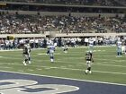 Kyпить 2 OF 4 DALLAS COWBOYS VS PITTSBURGH STEELERS TIX .FRONT ROW. SEATS  на еВаy.соm