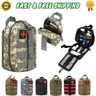 First Aid Kit Tactical Molle Rip Away EMT High Quality Pouch (Bag Only)