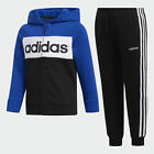 adidas Cotton Fleece Jacket and Jogger Set Kids