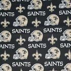 "NFL Football Cotton Fabric By The 1/4 YARD - PICK TEAM - for Mask 9""L x 44""-58""W"