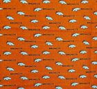 """NFL Football Cotton Fabric By The 1/4 YARD - PICK TEAM - for Mask 9""""L x 44""""-58""""W"""