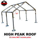 """Best Greenhouse Kits - Greenhouse Parts Kit w/ Bar Braces 1-1/2"""" HIGH Review"""