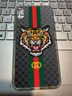 Case Tiger Guccy878 For Iphone 7 8 11 X XR XS Transparent Clear case