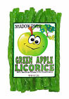 Shadow River Gourmet Green Apple Licorice Candy - Old Fashioned Green Twists