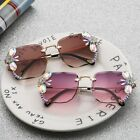 2020 Diamond Rhinestone Crystal Sunglasses Women Oversized Frame Square Vintage