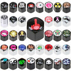 Patterned Car Air Wheel Valve Stems Screw Cover Caps Dust Tire Wheel Anti-theft $4.74 USD on eBay