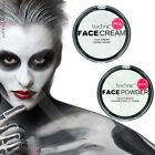 Technic White Foundation Cream Face Paint or Powder Halloween Goth Makeup