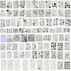 DIY Silicone Clear Stamps Transparent Rubber Stamp Scrapbooking Album HandCraft