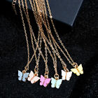 Women Butterfly Necklace For Women Choker Chain Acrylic Pendant Fashion Jewelry