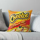 Cheetos Flamin' Hot - Throw Pillow Cases, Hot Cheetos Pillow Cover Snack Food
