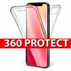 New TPU Front & Back Gel Case Cover for iPhone XR, X, 11, Pro, Max, 6,7,8 Plus